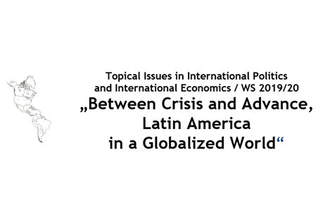 "Zum Artikel ""Vortrag 13.11.19: ""Bolsonaro Government: Where is Brazilian foreign policy going in a globalised world?"""""